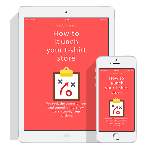 How to launch your online t-shirt store